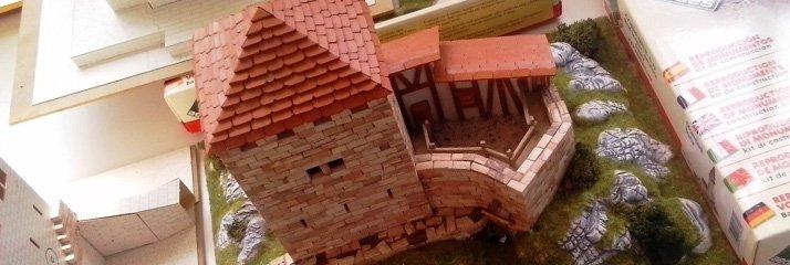 Сборные модели строений