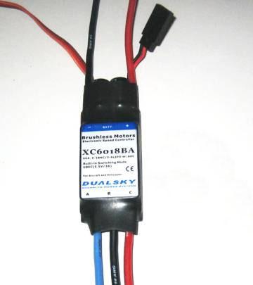 Регулятор скорости DUALSKY ESC 60A, 6-18NC/2-6 LiPo W/BEC