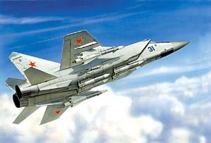 Истребитель - перехватчик МиГ - 31