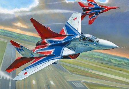 """МИГ-29 """"Стрижи"""""""