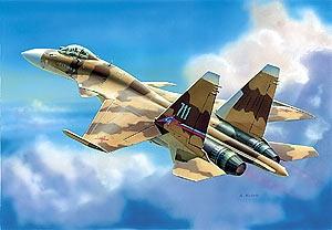 Российский истребитель Су - 37