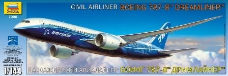 Пассажирский авиалайнер Боинг 787-8 ДРИМЛАЙНЕР