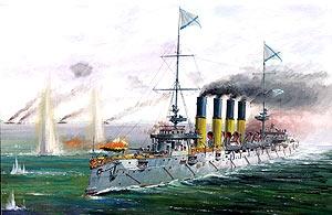 Крейсер «Варяг». Масштаб:1/350