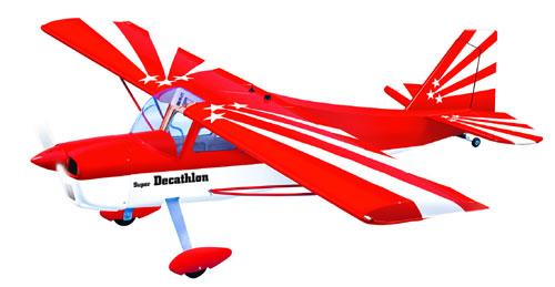 Радиоуправляемый самолет DECATHLON MK2, двс/электро, ARF, 1680мм
