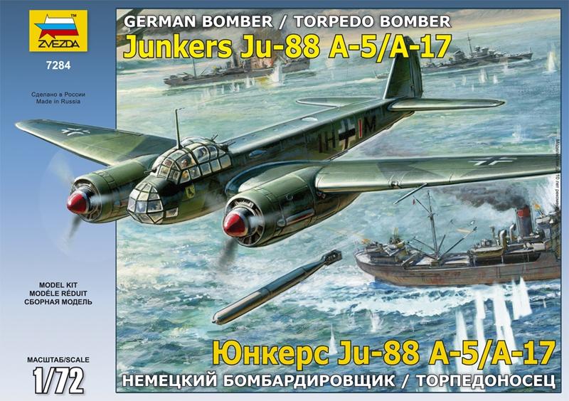 "Сборная модель ""Юнкерс 88 А-17/А-5"""