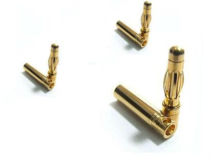 Силовой разъём 4 мм (3 пары)