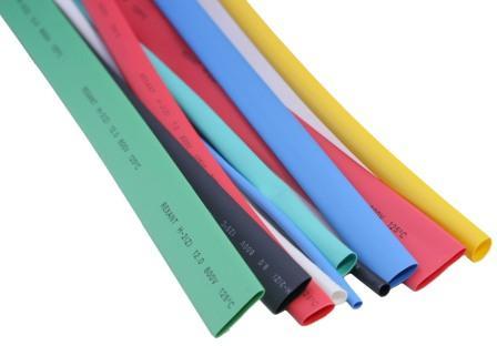 Термоусадочная трубка 5 мм (чер, крас, син) 3х0,3м