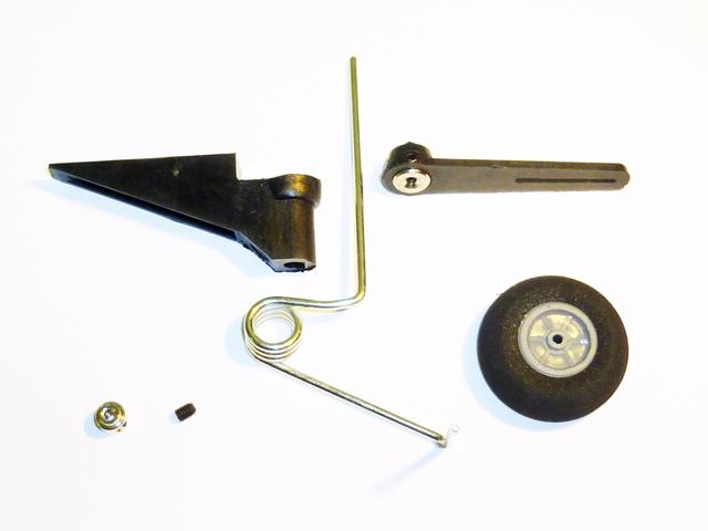 Хвостовая стойка .25 - .60 с колесом 30 мм