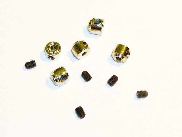 Стопорные кольца для колес d2,1/D5 мм (4шт)
