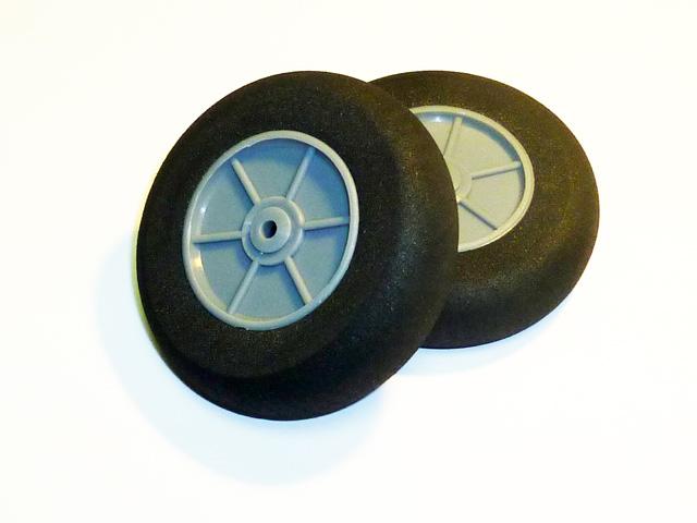 Лёгкие колёса D60 x d4 x H17 (2 шт)