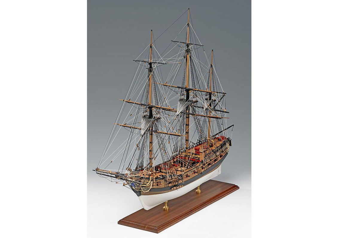 Сборная модель HMS FLY, 1:64