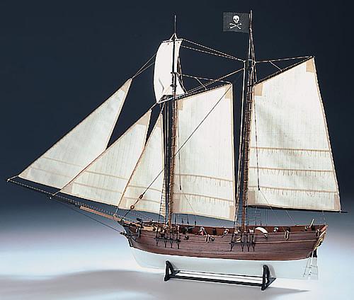 Сборная модель ADVENTURE - Pirate Ship, 1:60