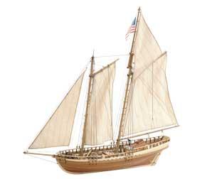 Сборная модель VIRGINIA 1819, 1:41