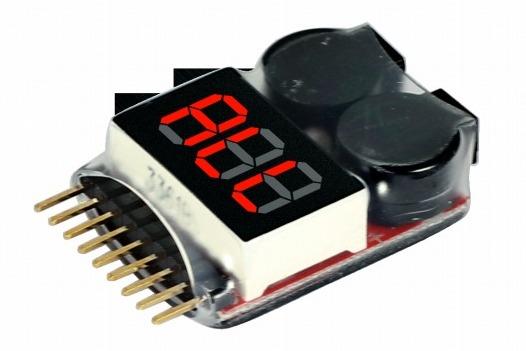 Бортовой тестер-индикатор напряжения Li-Po