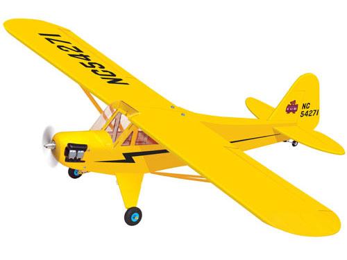 Радиоуправляемый самолёт PIPER CUB, электро, ARF, 1520мм