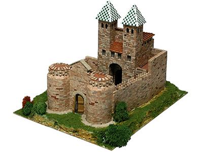 Сборная модель замка BISAGRA, 1:220