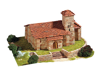 Сборная модель церкви SANTA CECILIA, 1:150