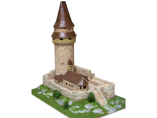 Сборная модель башни STRAMBERK, 1:110