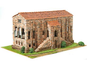 Сборная модель церкви СВЯТОЙ МАРИИ IXв, 1:65