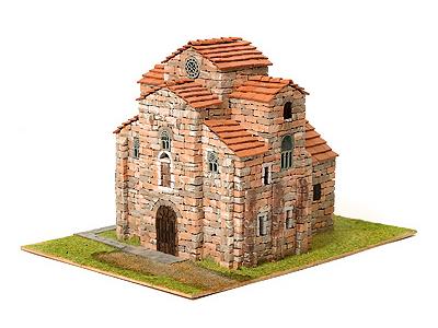 Сборная модель церкви СВЯТОГО МИХАИЛА, 1:65