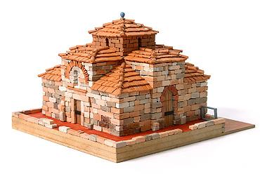 Сборная модель церкви СВЯТОГО МИХАИЛА XIIв, 1:100