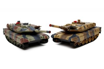 Радиоуправляемый Танковый бой, 2 танка, масштаб 1:24