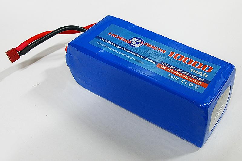 Силовой аккумулятор SanYan 10000мА/час 6S 22.2В 25C