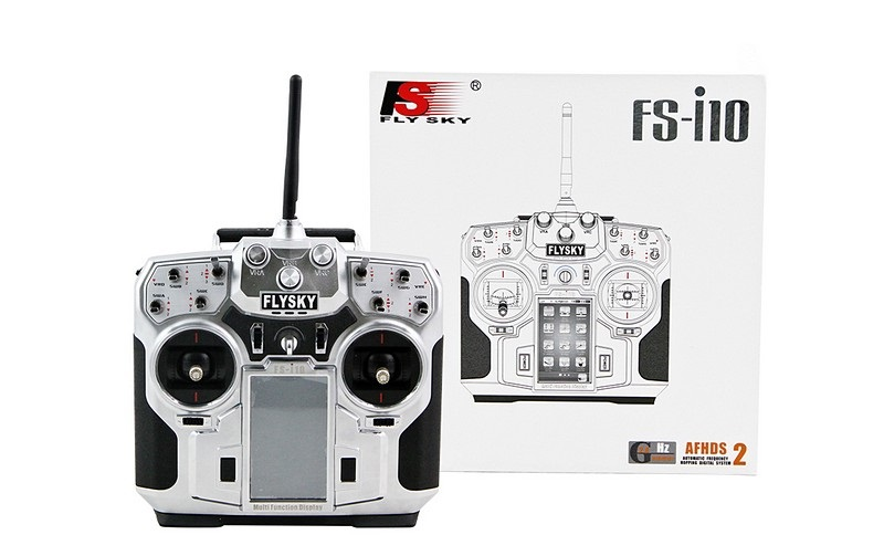 Аппаратура радиоуправления 10 каналов, FlySky i10 (TX, RX)