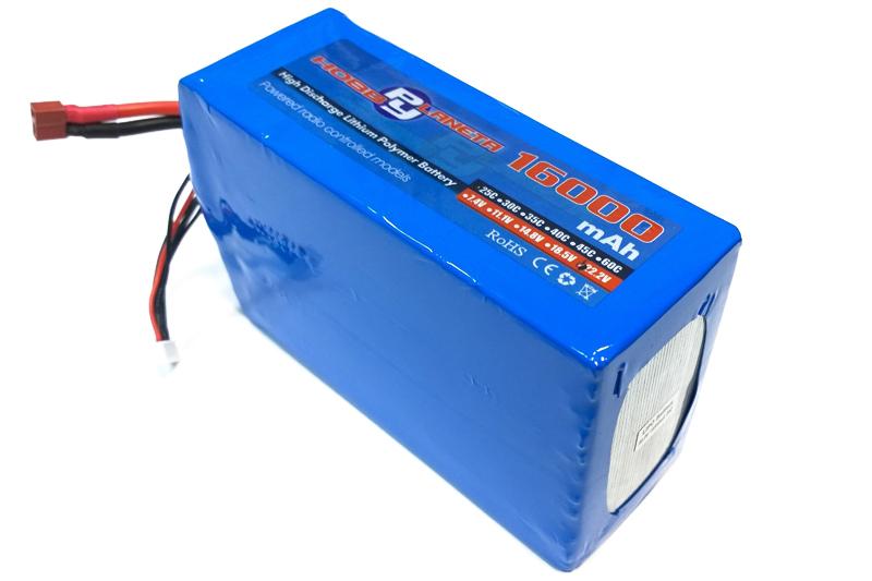 Силовой аккумулятор SanYan 16000мА/час 6S 22.2В 25C