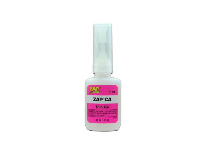 Клей ZAP CA жидкий, цианакрилатный, 14г