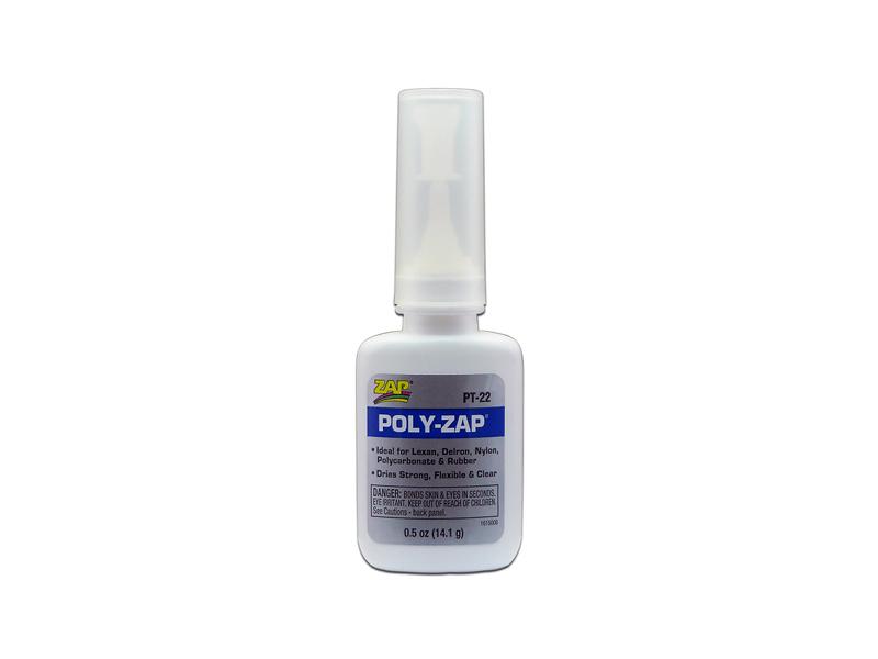 Клей для лексана и пластика POLY-ZAP, цианокрилатный, 14г
