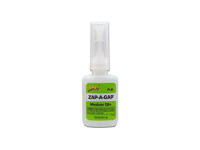 Клей ZAP-A-GAP средней вязкости, цианакрилатный, 14г