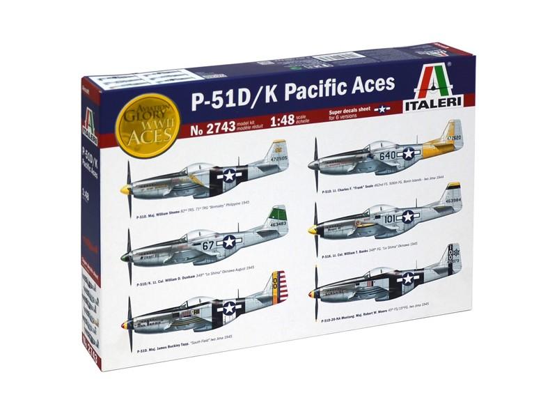 P-51 D/K PACIFIC ACES