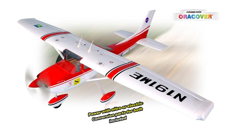 Радиоуправляемый самолет CESSNA 182, двс, ARF, 2005мм