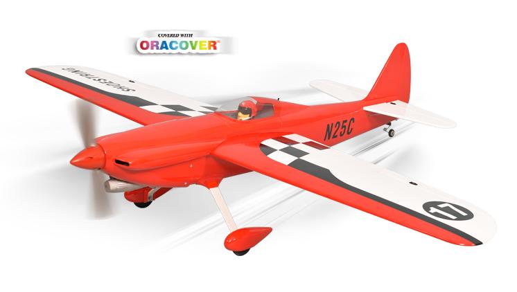 Радиоуправляемый самолёт SHOESTRING, двс/электро, ARF, 1537мм