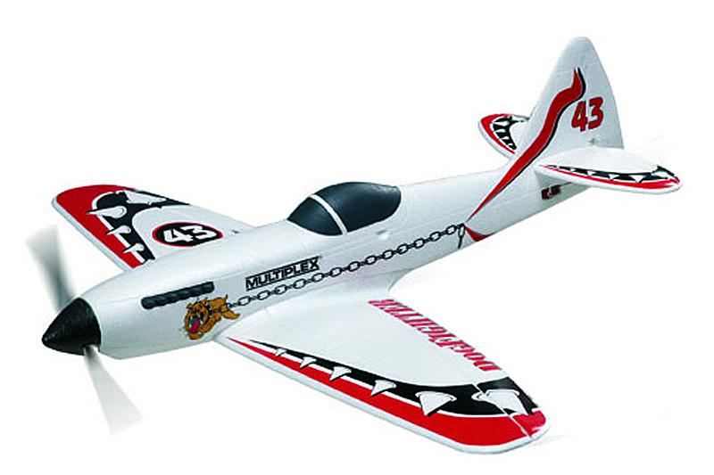 Радиоуправляемый самолет DOG FIGHTER, электро, ARF, 882мм