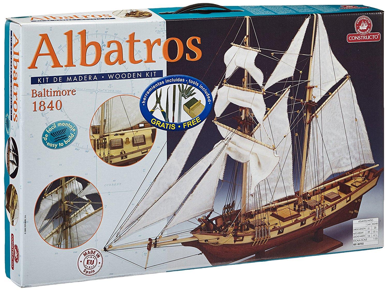 Сборная модель ALBATROS (плюс инструменты), 1:55