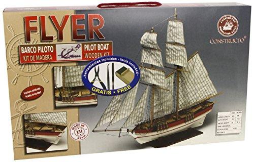 Сборная модель FLYER (плюс инструменты, краски), 1:100