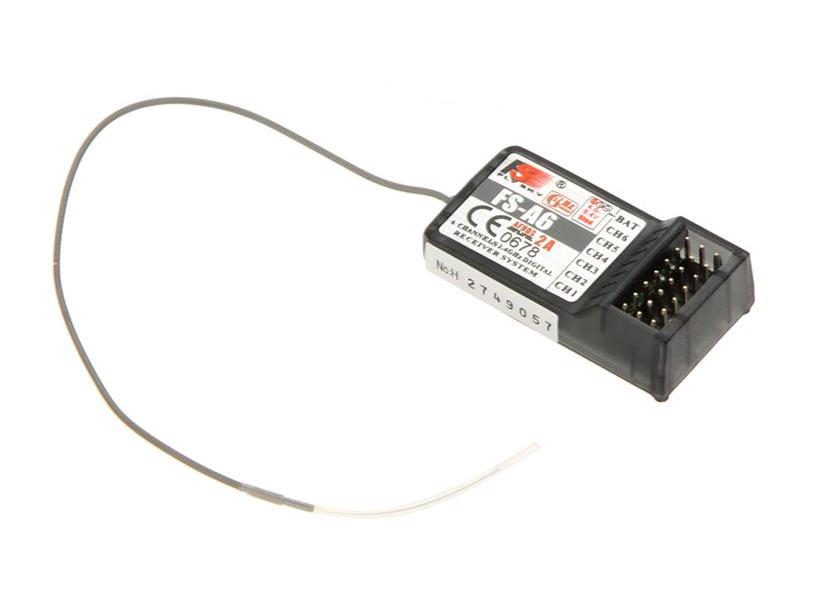 Приемник 6-ти канальный FlySky FS-A6, 2.4ГГц, AFHDS2