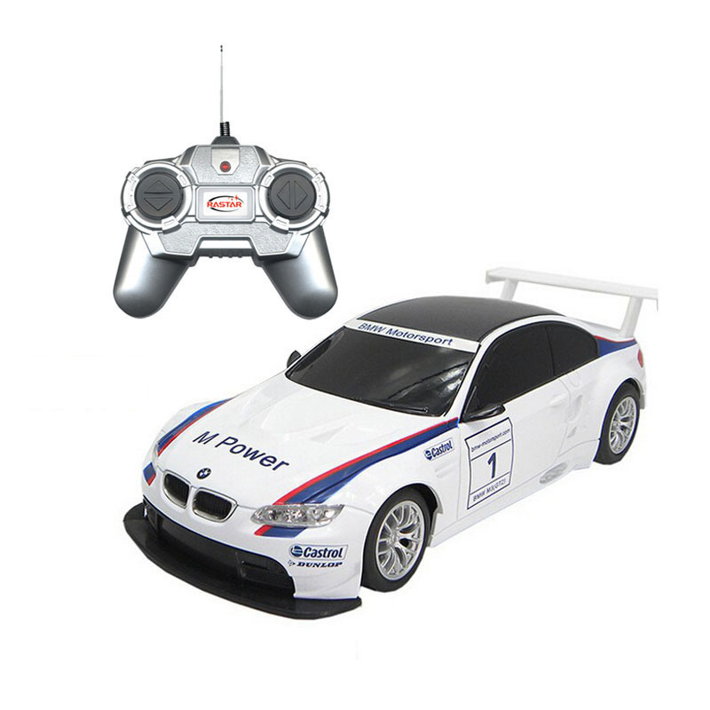 Р/У машина BMW M3 GT2, лицензионная, 1:24