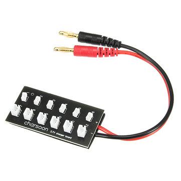 Плата для одновременной зарядки 6 АКБ LiPo 1S
