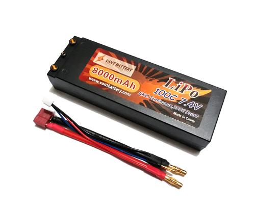 Аккумуляторная батарея VANT Battery 8000мА/ч 7.4В 2S 100C