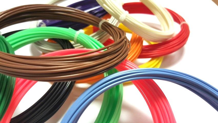 Набор ABS пластика для 3D ручек, 15 цветов по 10м