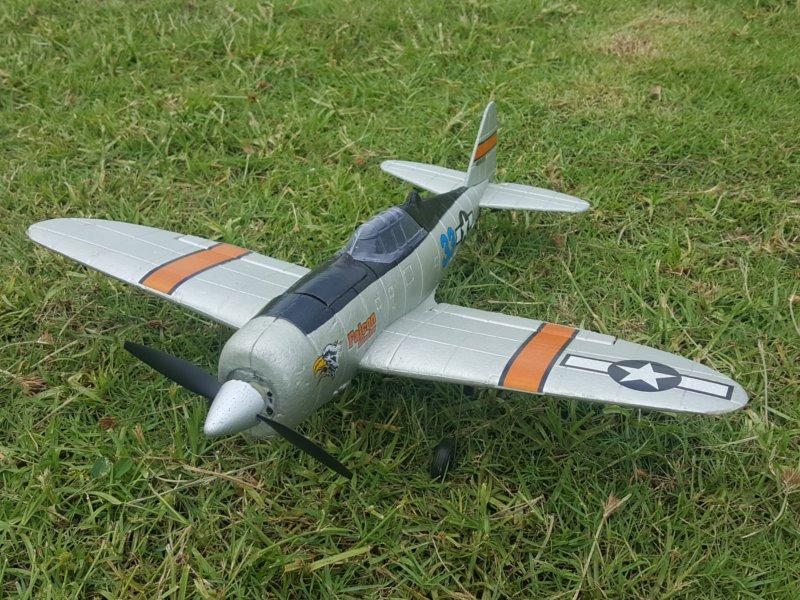 Р/У авиамодель Feilun P47 Thunderbolt, 450мм, электро, RTF
