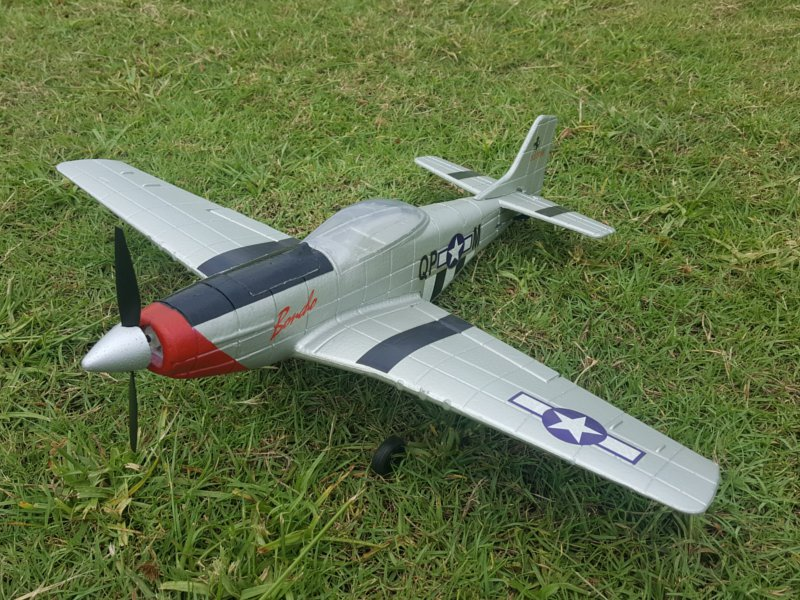 Р/У авиамодель Feilun P51 Mustang, 500мм, электро, RTF