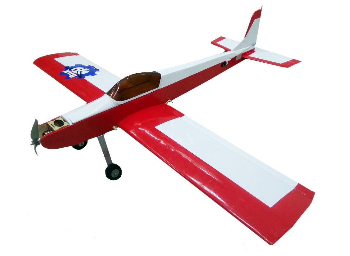Учебный самолёт, двс/электро, KIT, 1200мм, с фурнитурой