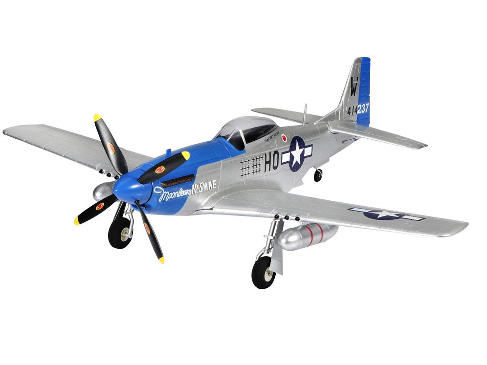 P-51D, электро, 750мм, без радио