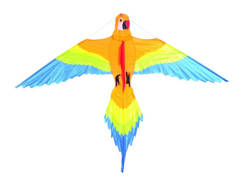 """Воздушный змей """"Попугай Клара 154x122"""""""