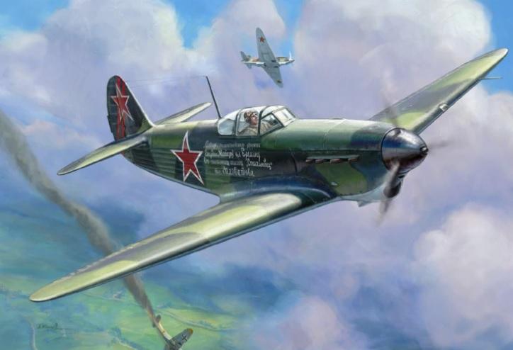 Советский истребитель Як-1Б