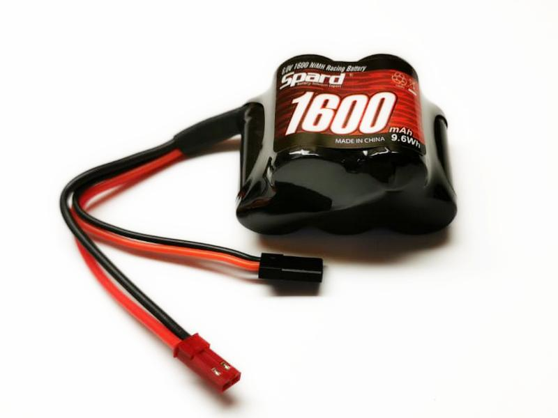 Аккумуляторная батарея 6В/1600мАч бортовая горбатая